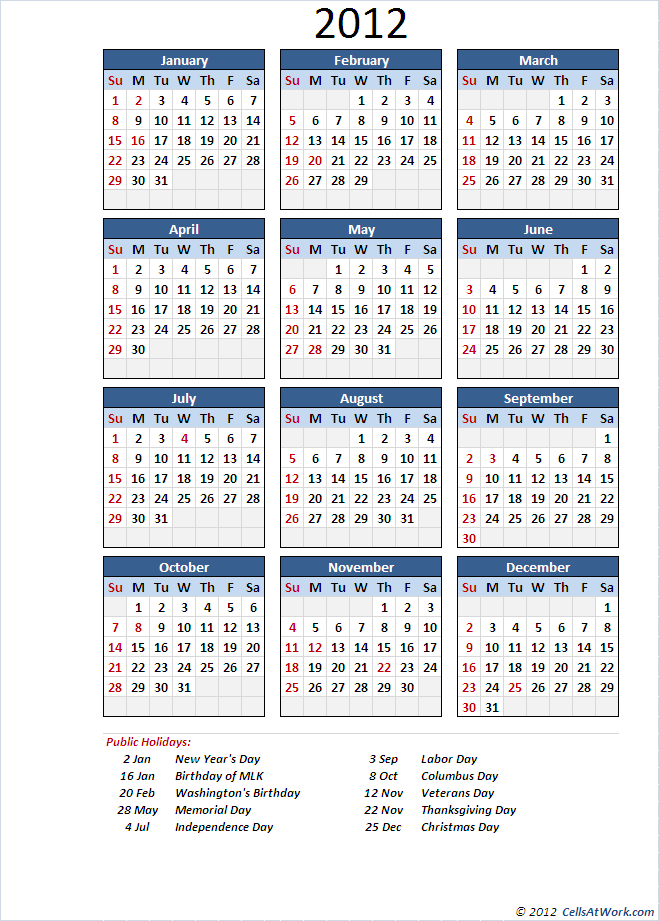 photograph regarding Perpetual Calendar Template titled Perpetual Calendar (Straightforward)